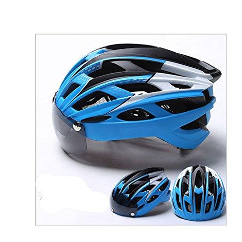 MISHUAI fietshelm, fietshelm met 27 gaten, hoofdbescherming, keuze uit 8 kleuren (kleur: natuur)