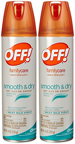 Off! Familycare Smooth & Dry Insect Repellent Spray - 4 oz - 2 pk