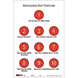 Double Action (Revolver) Dot Torture ~ EZ2C Targets Style 26 (25 Count) Training Shooting Drill