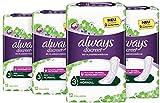 Always Discreet Inkontinenz-Einlagen, Normal Bei Blasenschwäche, 4er Pack (4 x 12 Stück)