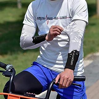 Respirante dans Manchettes de Bras Cyclisme Homme Hiking,Motorbikes,Cycling,Protection Sun Sport Nobranded Manchettes de Bras Anti UV,Homme Manchon de Bras,UV Protection Solaire UPF 50