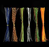 20 Bundles Fishing Skirt Lures Kit Replacement Skirts for SpinnerBaits Buzz Baits 30 Strands Quick...