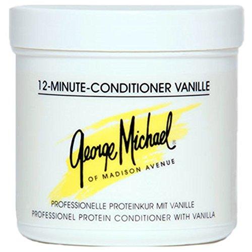 George Michael 12 Minute Conditioner Vanille 185 ml Proteinkur mit Vanille für trockenes & strapaziertes Haar