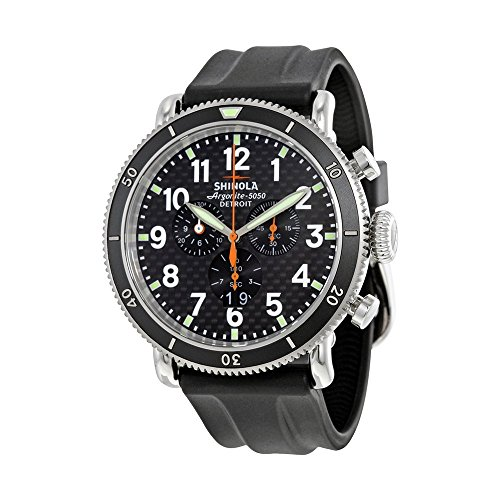 Shinola The Runwell Sport Chrono S0100092 - Reloj de pulsera para hombre (fibra de...