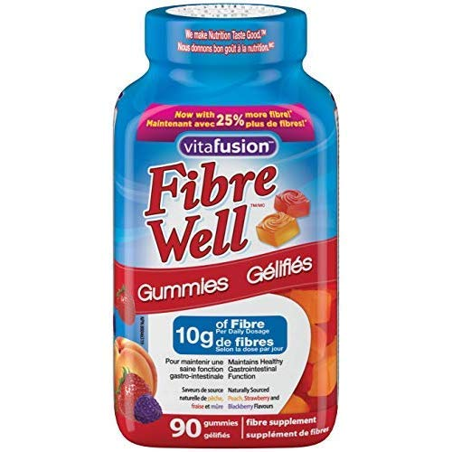 Vitafusion Fibre Well Fibre Supplement Gummies, 90...