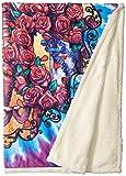 Liquid Blue Men's Grateful Dead 30th Anniversary Coral Fleece Throw Blanket, Multi, 50' X 60'