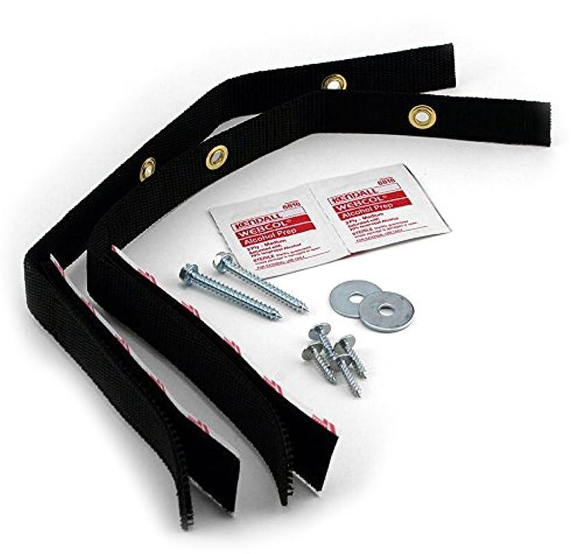 Quakehold! 4160 Furniture Strap Kit, Black nr848406701629