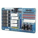 Herramientas de Prueba de Placa de alimentación portátil Probador de Placa de alimentación de Pantalla Digital Duradera para Placa de alimentación LCD