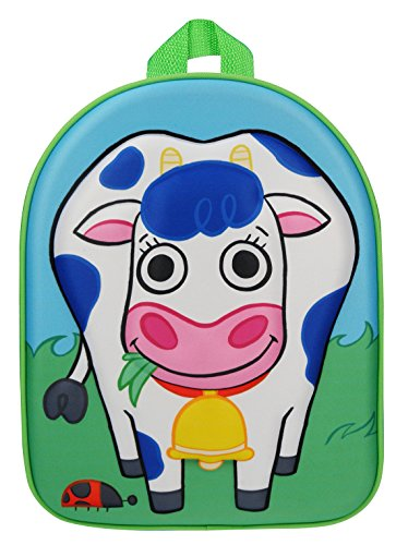 Kidzroom 030-7473-2 Happy Farm 3D Rucksack Kuh