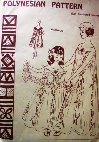 Dress vintage hawaiian Retro Tiki