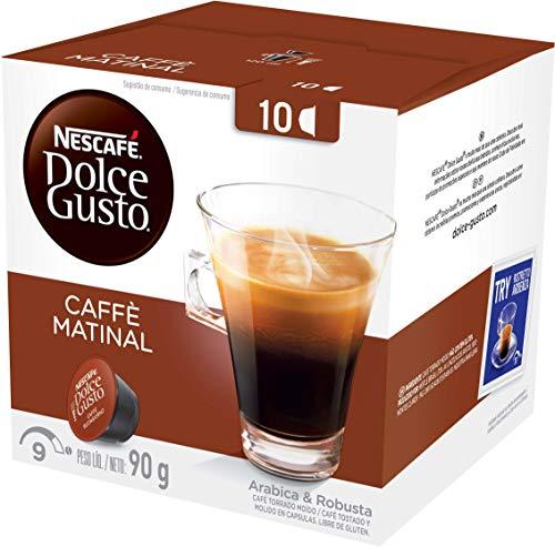 10 Capsulas Dolce Gusto, Capsula Caffè Matinal
