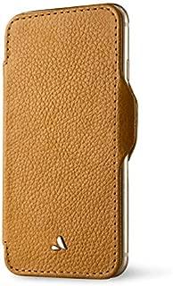 Vaja Cases Nuova Pelle iPhone 7 Plus Leather Case - Magnetic Flap Closure, Hard Polycarbonate Backbone - Verygrain London
