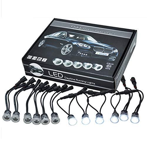 LEDflex flexibles Tagfahrlicht mit 12 LEDs - STVZO passend für alle PKW