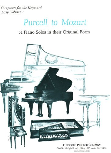 Price comparison product image Purcell to Mozart (PIANO)