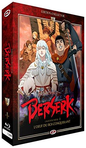 Berserk l'Âge d'or : l'oeuf du Roi conquérant-Blu Ray (Version française) [Édition Collector Limitée et Numérotée]