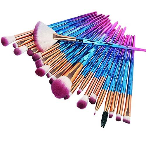 Pinceaux de Maquillage Pinceau De Maquillage Fard À Joues Pinceaux Doux Et Lisses Contour Highlight Shadow Brushes Poudre Concealer Beginne