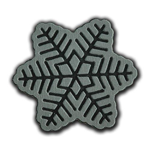 toejamr Stomp Pad–Snow Flake–Grau