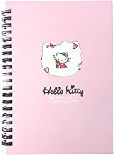 Sanrio Hello Kitty Point Spiral Daily Notebook Note Pad 1pc (Light Pink)