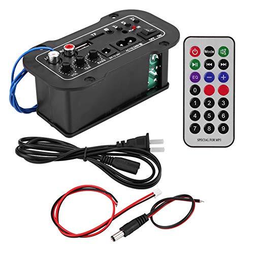 Esenlong 5In Auto Coche Amplificador Digital Bluetooth Amplificador de Audio Estéreo de Alta Fidelidad Bajo de Alta Fidelidad 1Set