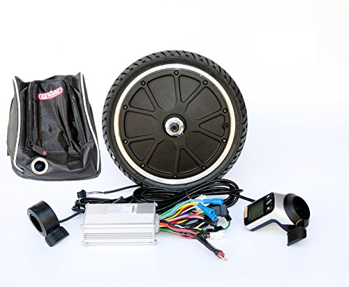 250W elektrische scooter motorfiets ombouwset mini bike 45mm motor kit Wuxing LCD Display Thumb Throttle en EBS Thumb Brake