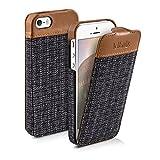 kalibri Flip Case Hülle kompatibel mit Apple iPhone SE