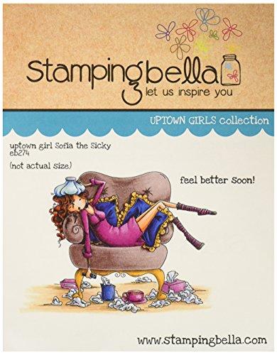 Stamping Bella Sellos para Estampado (Goma 16,5cm x 4.5-Inch, Uptown Girl Sophia es un sicky