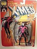 X-Men Marvel The Uncanny Archangel (Gray Wings) 5' Action Figure (1993 ToyBiz)