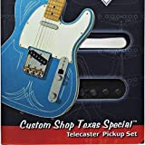 Fender Custom Shop Texas Special Telecaster Pickups set フェンダー カスタムショップ テキサス スペシャル テレキャスター ピックアップ セット (フロント リア) 『並行輸入品』
