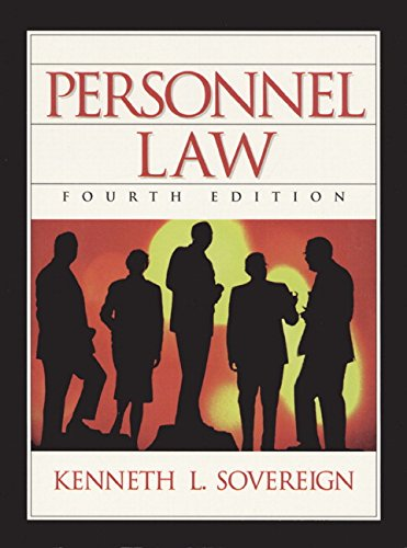 Personnel Law (4th Edition)