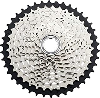 JGbike Shimano 11-42T 10-Speed Cassette for deore m6000 CS-HG500 Wide Ratio MTB Cassette, for 11-32 11-34 11-36 11-40T Upgrade