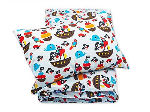 Pepi Leti 685843715528 Pirates Parure de lit pour enfant Multicolore