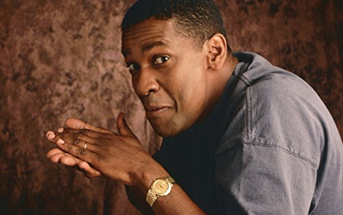 Actor Poster, Gold Watch Poster, American Poster, Denzel Washington Print, Smile Poster (XL - 24'' x 36'')