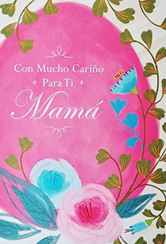 Con Mucho Carino Para Ti Mama - Feliz Pascua Happy Easter Greeting Card to Mom in Spanish Espanol