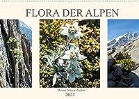Flora der Alpen (Wandkalender 2022 DIN A2 quer): Blumenwelt der Alpen (Monatskalender, 14 Seiten )