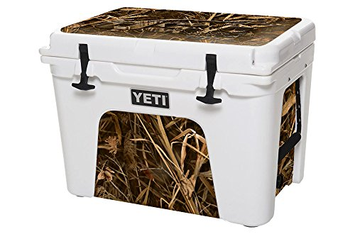 USATuff Wrap (Cooler Not Included) - Lid and Insert Kit Fits YETI 35qt Tundra - Protective Custom Vinyl Decal - USA Tuff Wing Camo Duckhead
