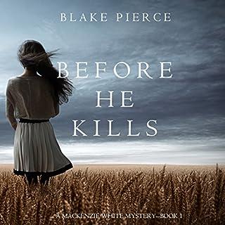 Before He Kills audiobook cover art