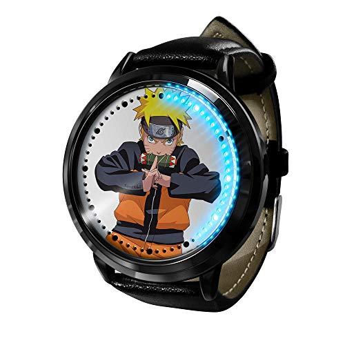 El Nuevo Reloj de animación Femenino de Naruto está Hecho de Cuarzo de animación de Acero Inoxidable.-A