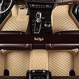 LUOLONG Car Floor Mats,HLFNTF Custom Car Floor mats For Mercedes Benz W169 A180 W176 A180 A200 CLK200 GL450 S320 C E S Series etc.Car Accessories,Beige