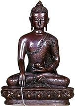 Shakyamuni Buddha Statue, Gautam Buddha Statue, Copper Fengshui Statue, Living Room Home Garden Decor Buddha Ornaments Cra...