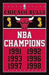 Trends International Chicago Bulls Champions Wall Poster 22.375