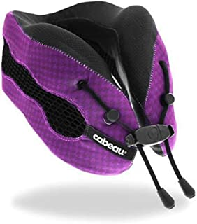 Cabeau Evolution Cool 2.0 Memory Foam Neck Travel Pillow - Purple