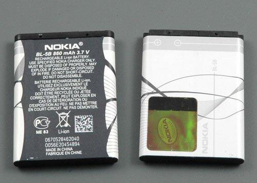 Batteria originale NOKIA BL-5B 32203230507051405140i 5300Xpress Music 5500Sport 6020602160606070608061016120Classic 72607360N80N90