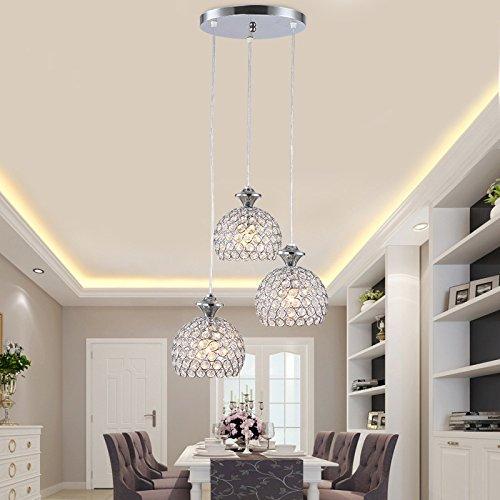 Lampadari di cristallo in un moderno stile minimalista LED lampadario di cristallo lampade sala ristorante le lampade a led