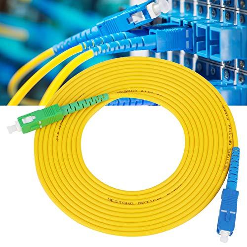 Zuverlässiger PVC-Jumper für Glasfaserkabel SC/APC-SC/UPC für die Industrie