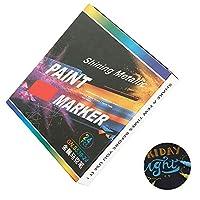 tropicaljp マーカーペン 12色セット 水性 カラーペン サインペン DIY サプライズボックス アルバム 手作り カード 年賀状 ガラス 木材 陶芸 フォトなど まざまな用途に適用 (24色)