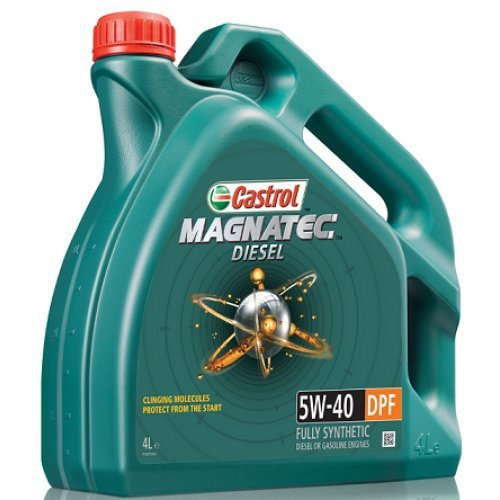 Castrol Magnatec 5W-40 DPF - Aceite para motor totalmente sintético para motores...