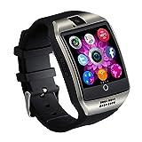 Smart Watch VS18Arc Uhr mit SIM Slot NFC Bluetooth Connect Phone Android Phone Smartwatch Q18 schwarz schwarz