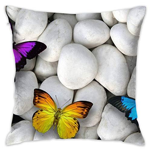 surce Stones Kleurrijke Vlinder Zachte Comfortabele Houd Kussen Cover Kussens Gooi Kussen Thuis Decoratieve Kussensloop 18