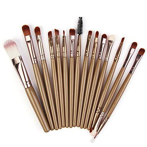 HOUXIAONI Kit De Pinceaux De Maquillage Start The Day Beautifully Kit pour Fard à Paupières Foundation,17-OneSize