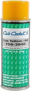 759-3940 -12 oz Aerosol Paint - CUB YELLOW 99